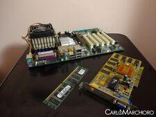 Kit scheda madre CPU RAM VIDEO ABIT-V17 Intel Pentium 4 2,00 GHz 256MB