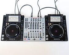 Pioneer / Allen & Heath DJ Set: 1x Xone 92 & 2x CDJ 2000 NXS2 Nexus 2 + Kabel
