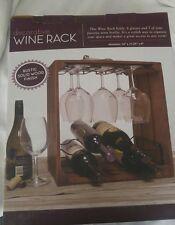 bnip solid wood wine rack