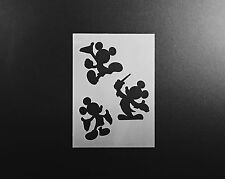 Mickey Mouse Bodies Stencil Airbrush Wall Art Craft Disney Home DIY Reusable