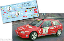 Decal 1:43 Jesus Puras - CITROEN ZX 16V - Rally El Corte Ingles 1995