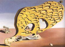 Incorniciato stampa-Salvador Dali L'enigma della mia volontà (replica quadro dipinto)