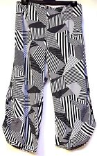 plus sz XXS/ 12 VIRTU TS TAKING SHAPE Brooklyn Crop Pants lightweight summer NWT