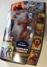 Marvel Legends Human Torch Variant Walmart Exclusive Ares BAF (left arm)