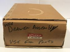 Studer 1.631.013.00 Used Drawer Assembly For Parts D731 D732