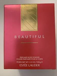 Estee Lauder Beautiful Perfumed Body Powder 3.5 oz (Opened Box)