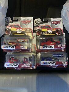 2021 Disney Pixar Cars NASCAR McQueen STORM Luigi & Guido MATER Rusteze METAL
