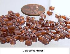 Miyuki Shoji 4mm Cube Glass Beads 10-Grams Square Choose Color