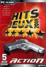 NEUF JEU PC HITS JEUX 2008 ACTION = 5 JEUX BOMBORAM/ASTRO FURY/MARS ATTAQUE/