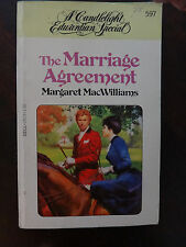 The Marriage Agreement by Margaret MacWilliams (1980) - Regency PB