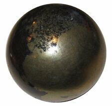 Pyrite Sphere Ball Reiki Healing Stone Table Décor Natural Stone Gift 35-40MM
