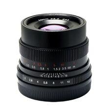 7artisans 35mm f/2 Manual focus Lens for Sony E mount NEX A7 II A7R A6500 A6300