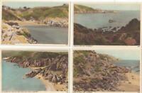 GUERNSEY  :     4  x   Postcards  -    Channel  Islands     ( E13)
