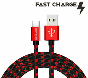 Type USB C Cable 4,6,10ft FAST Charger Cord for JBL Charge 4, FLIP 5 Speakers