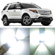 Alla Lighting Front Turn Signal Light 3157 LED Bulb for Ford Explorer Sport Trac