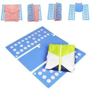 Adjustable Folding Board T Shirt Clothes Fast Folder Laundry Organizer For Adult