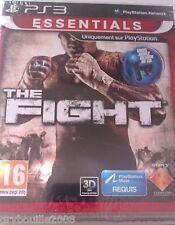 """JEU PS3 """"THE FIGHT"""" Jouable 2D/3D (Ici Tous Les Coups Sont Permis) NEUF BLISTER"""