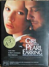 GIRL WITH A PEARL EARRING     Region 4 DVD    With SLIPCOVER & BOOKLET  (1851)