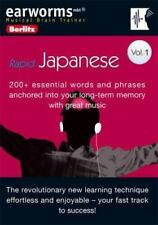 Earworms Rapid Japanese [Berlitz Earworms Musical Brain Trainer] [Japanese Editi