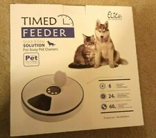 Elite Pet Products Automatic Pet Feeder, for Cats and Dogs
