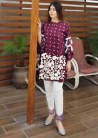 Pakistani unstitch 2pc Linen shalwar kameez suit winter collection for women