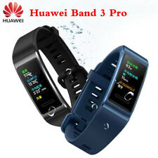 NEW Huawei Band 3 Pro Wristband GPS NFC AMOLED COLOR Touchscreen Heart Rate