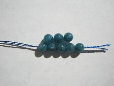 Natural A+ Apatite Round Gemstone Beads - 4mm - 8