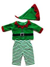 CHEROKEE Boy 0-3 Months Red Green Ribbon Velvet Elf Christmas Costume Outfit