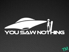 Has visto nada snowboarder (Alien/UFO) Gracioso Coche Snowboard Pegatina Etiqueta de vinilo