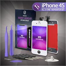 Display LCD für iPhone 4S RETINA Glas Bildschirm Scheibe Touch Screen WEISS