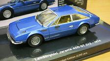 Minichamps 1/43 1974 Lamborghini Jarama 400 GT 2+2 (Blue Met) 436-103400