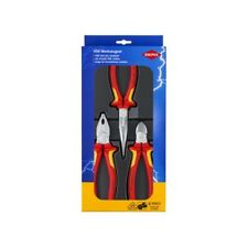 002009V01 Kombizange Seitenschneider KNIPEX Zangenset Bestseller Paket 3 tlg