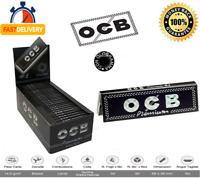 2500 X Cartine OCB Nero Premium Black Corte Singole Box Da 50 LIBRETTI