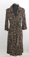 Diana von Fürstenberg Kleid Wickelkleid Gr.36 38 100% Seide Neu + Etikett NP 379