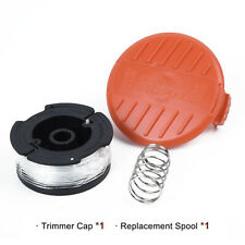 3 Pack AF-100 Black Decker Weed Eater String Replacement Spool Line Trimmer Cap