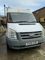 FORD TRANSIT 115 T280L RWD 2.4 DIESEL (Spares or repair needs injectors)