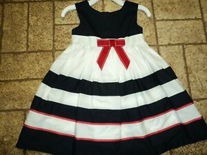 Blueberi Boulevard Dress. Sz. Girls 24 Mos. Pretty!