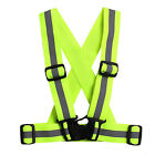Reflective Adjustable Safety Security High Visibility Vest Gear Stripe Jacket HK