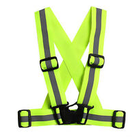 Reflective Adjustable Safety Security High Visibility Vest Gear Stripes Jackets