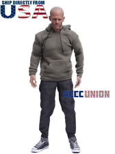 """1/6 Scale Sweater Jeans Sneakers Set B For 12"""" Hot Toys PHICEN Male Figure USA"""
