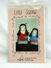 Lynn Dee Inc. L101, 'Little Squaw' Doll or Doorstop by Delores L. Stang - Uncut