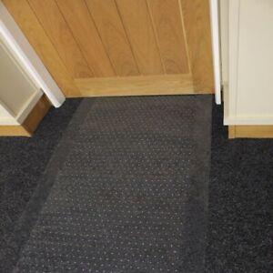 Clear Heavy-Duty Protector 100%, Vinyl Plastic Carpet Floor Mat Protector Runner