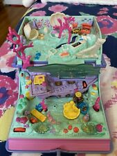 Polly Pocket Sparkling Mermaid adventure Book lights-up 1995 Bluebird