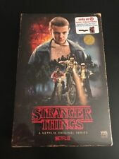 *NEW STRANGER THINGS SEASON 1 one BLU RAY DVD 4 DISC TARGET VHS PACKING + POSTER