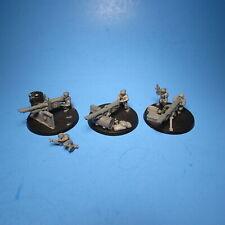 GW Warhammer 40K Astra Militarum Heavy Weapon Teams x3 a2