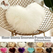 Heart Shaped Throw Pillow Cushion Plush Pillow Gift  Pillow Covers Home Sofa
