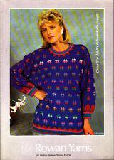 Knitting Pattern, Rowan, Ladies  Sweater,  30-42in