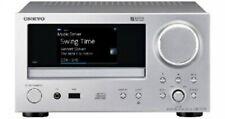 ONKYO Network CD Reciber CR-N775 Home Theater Audio Player Speaker New Silver