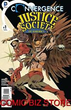 CONVERGENCE JUSTICE SOCIETY OF AMERICA #1 (2015) 1ST PRINT BAGGED & BOARDED DC