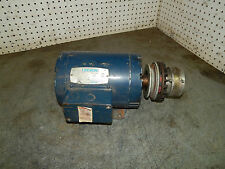 Leeson 120011 01 C145t17db1a Motor 1 1215hp 1740rpm With Air Champ Clutch